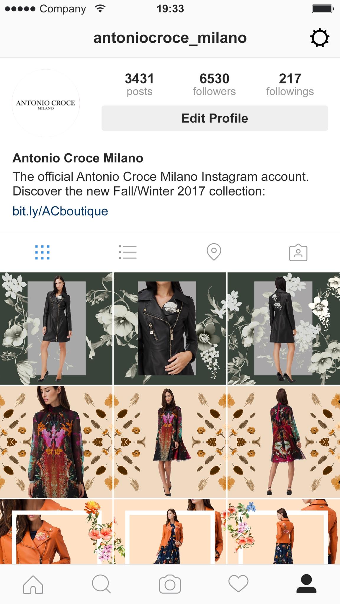 Instagram immagini multiple